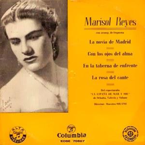 Discografía Marisol Reyes En La Taberna De Enfrente - Discos de Vinilo. La base de datos de SG's (Singles) y EP's (Extended Plays) de 17 cm. - 13771